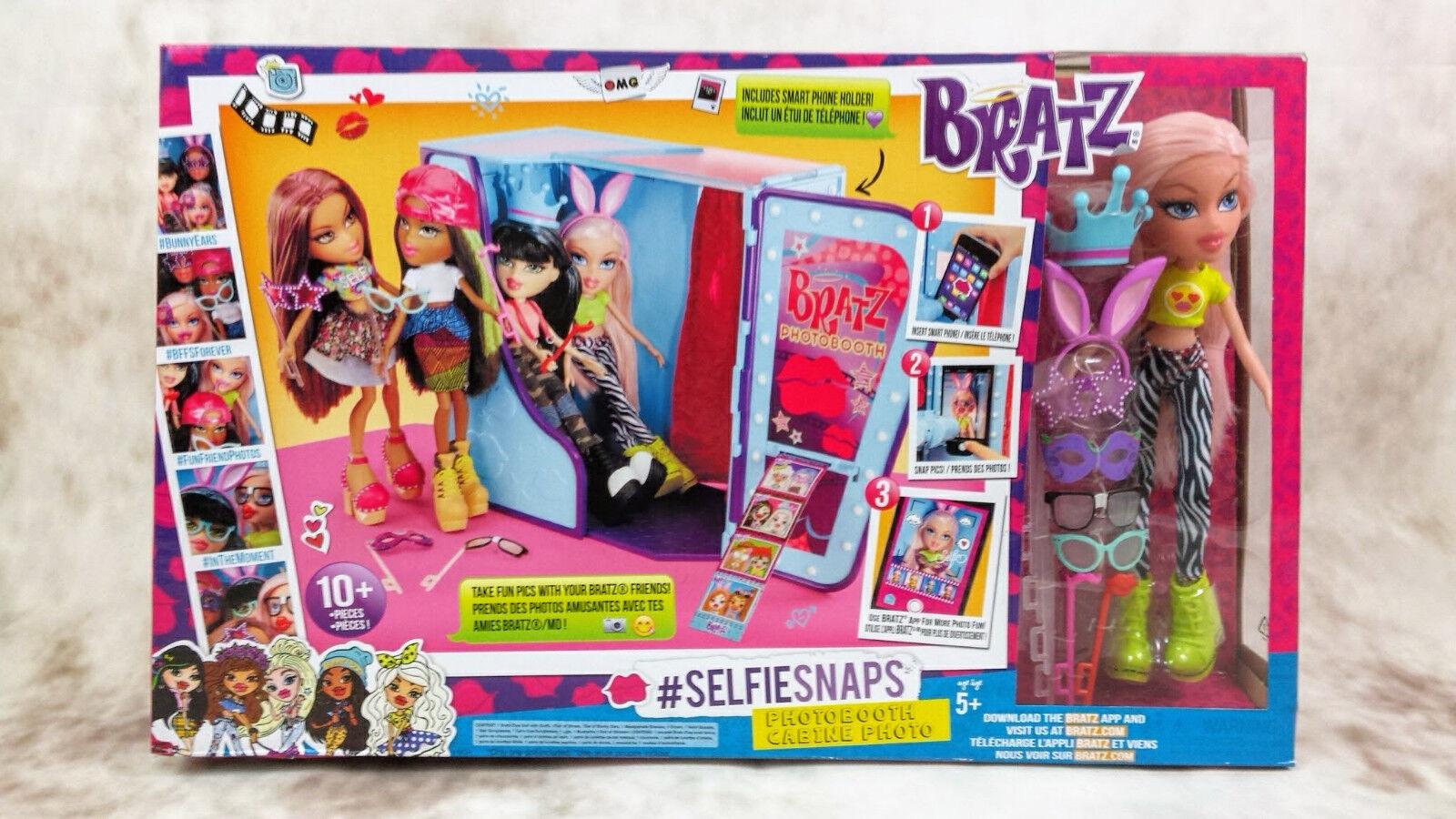 Bratz Selfie Snaps PhotoStiefelh with Cloe Doll Playset. BNIB