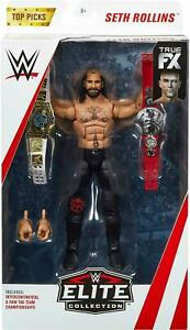 Elite-Action-Figures-WWE-Seth-Rollins-Top-Picks-Mattel-Wrestling-New-Boxed