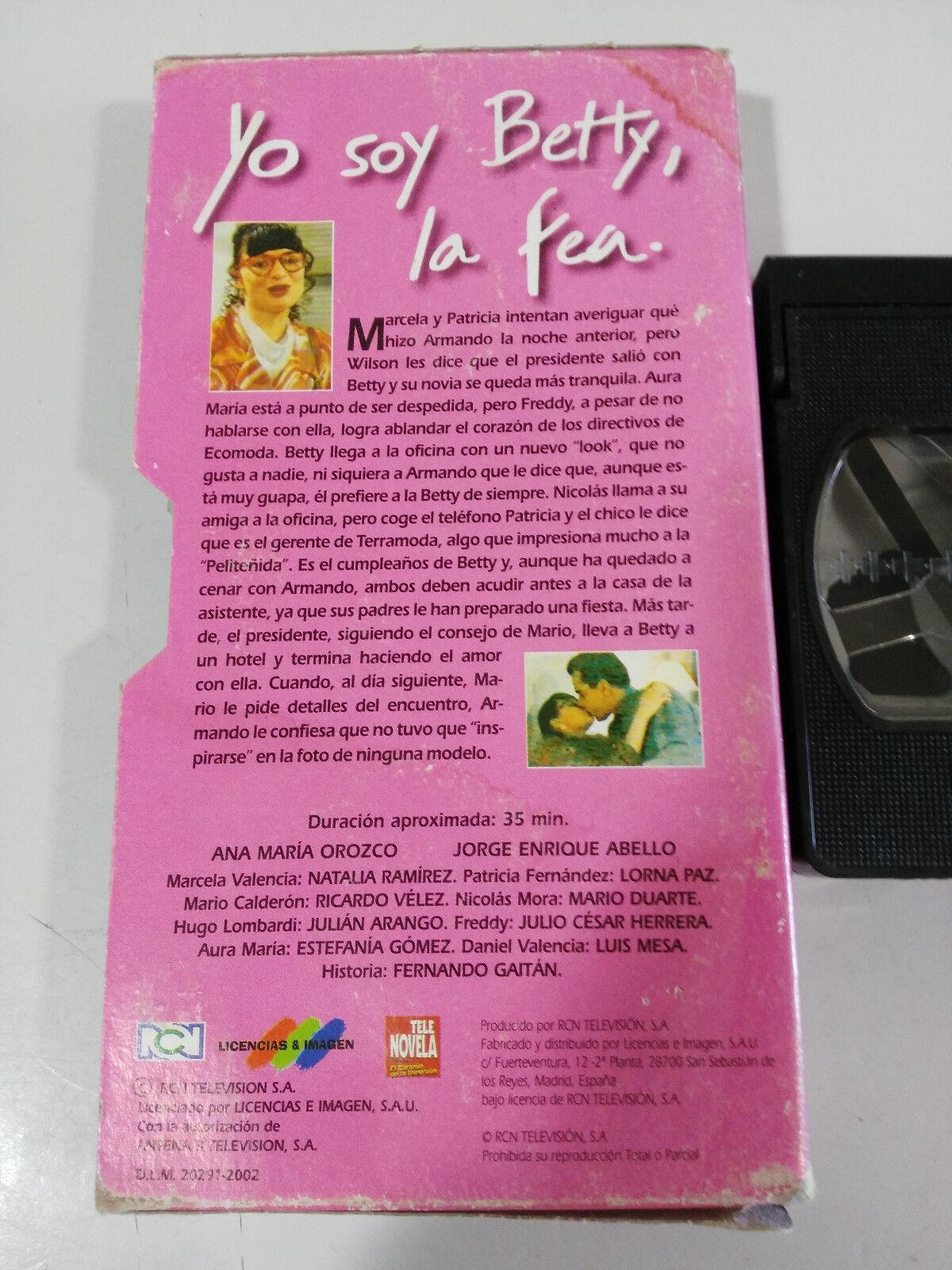 Yo Soy Ugly Betty Volume 6 Ana Maria Orozco Tele Novel VHS Tape Spanish