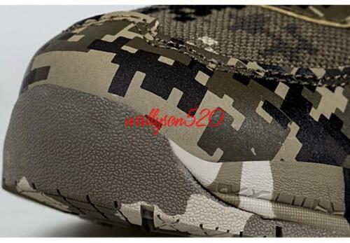 Mens Military Sport Hiking Athletic Trainer Sneaker Sport Running Camo Shoes