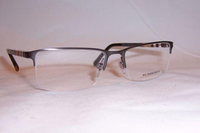 0b5fa40cdda Burberry 0be1282 Eyeglasses Brushed Gunmetal 1008 Size 55mm for sale ...
