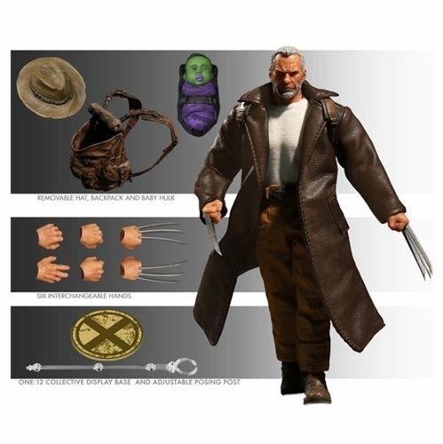 Mezco Wolverine Viejo Logan One 12 figura de acción colectiva