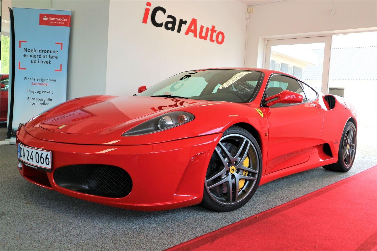Ferrari F430 4,3 F1 2d - 600.000 kr.