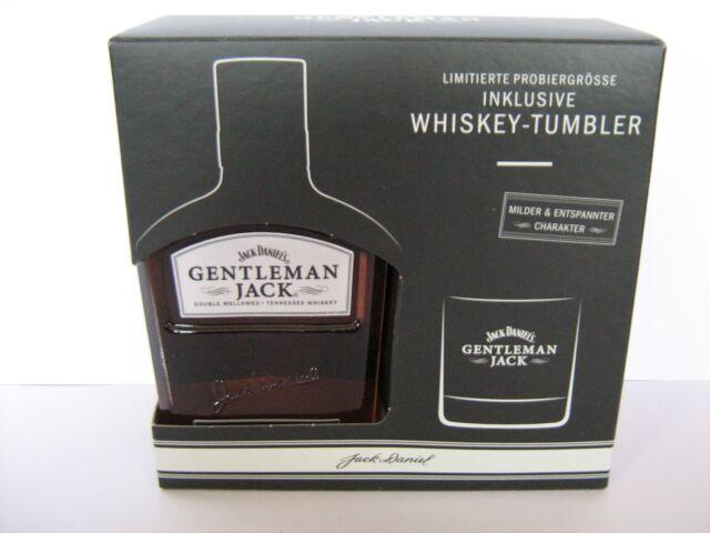 Whiskey Jack Daniels Gentleman 200 Ml 40 Geschenkbox Tumbler