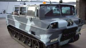 """""""Husky"""" M116 Tracked Amphibious Military Cargo Carrier"""