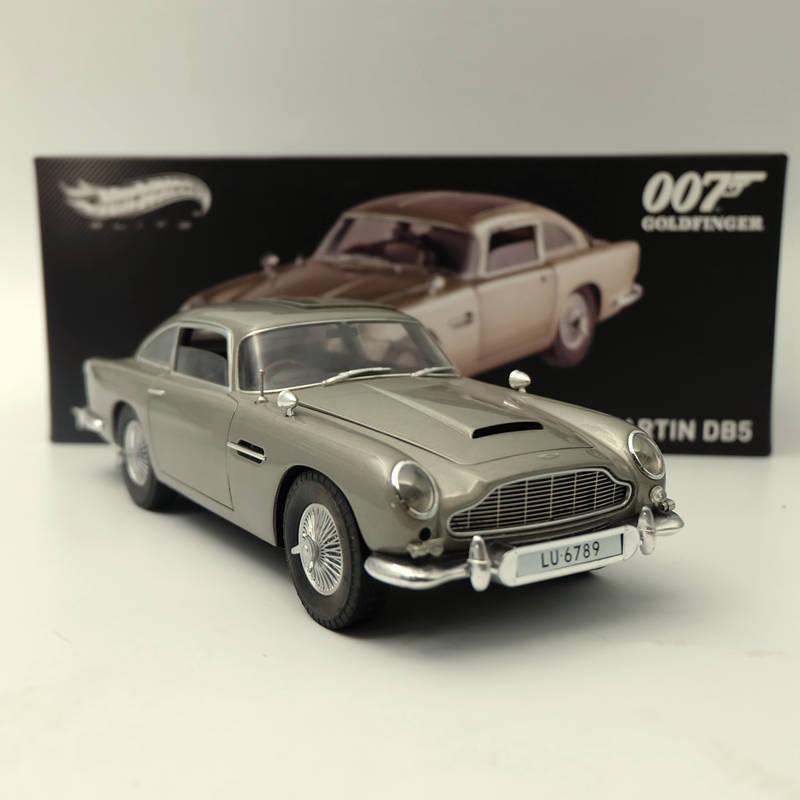 Envío 100% gratuito Hotwheels Elite 1 18 Aston Martin DB5 orofinger 007 James James James Bond BLY20 Diecast  descuento