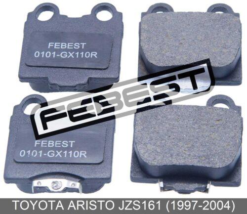1997-2004 Pad Kit Rear For Toyota Aristo Jzs161 Disc Brake