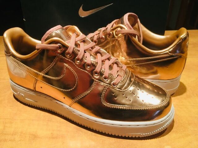 nike air force 1 af1 low premium ID rose gold independence usa 849070 992 size 8