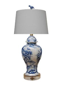 Image Is Loading Beautiful Chinese Blue And White Landscape Valley Porcelain