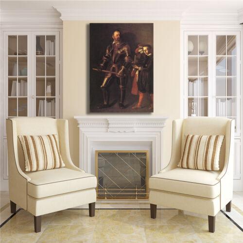 Caravaggio Alof de Wignacourt quadro stampa tela dipinto telaio arredo casa