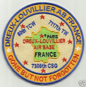 USAF-BASE-PATCH-DREUX-LOUVILLIER-AIR-BASE-FRANCE-GONE-BUT-NOT-FORGOTTEN-Y