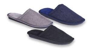 Angemessen Mens Slip On Memory Foam Soft Clog Comfort Mule Textile Slippers Online Shop