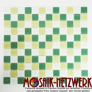 Glasmosaik-mix-hell-hellgruen-hellgelb-Fliesenspiegel-Kueche-Art-62-0504-10Matten