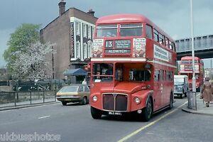 London-Transport-RML887-Golders-Green-April-1979-Bus-Photo