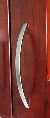 """lot 50 6"""" Satin Nickel Kitchen Cabinet Door Drawer Arch Handle Pull knob 05SN128"""