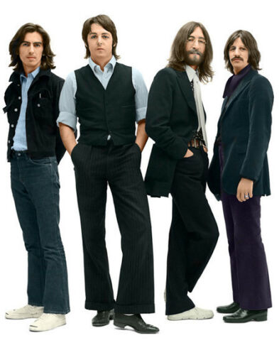 "Photo Print  14 x 11/"" The Beatles 1969"