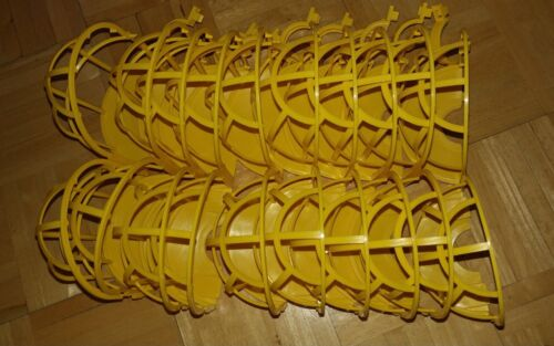 Temporary Jobsite Replacement Yellow Bulb Cages for Lighting String 10 pcs