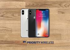 Apple iPhone X 64/256/512GB A1865 AT&T T-Mobile Verizon Sprint Unlocked
