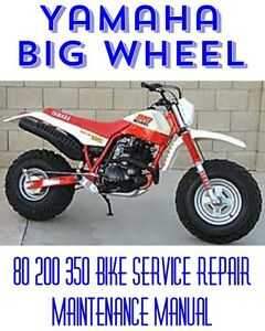 download now yamaha bw80 big wheel bw 80 service repair workshop manual