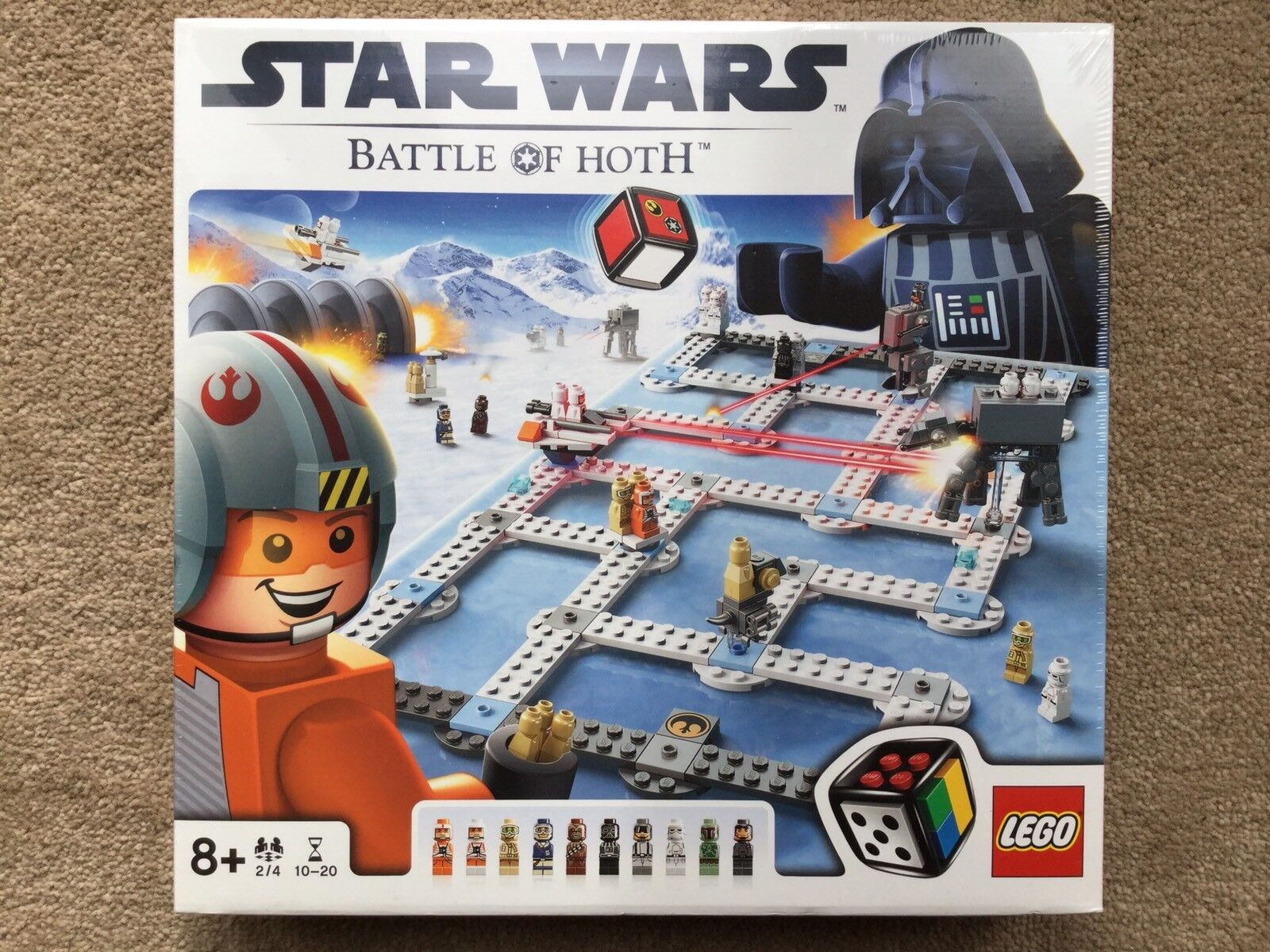 Lego Star Wars 3866 Battle Of Hoth Hoth Hoth Board Game - NEW & SEALED f534c8