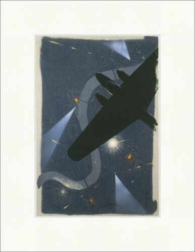 Bomber Command Roy Nockolds Booklet Cover design Kunstdruck Plakatwelt 751