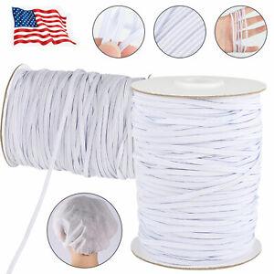 144-Yards-Length-1-8-inch-DIY-Braided-Elastic-Band-Cord-Knit-Stretch-Band-Sewing