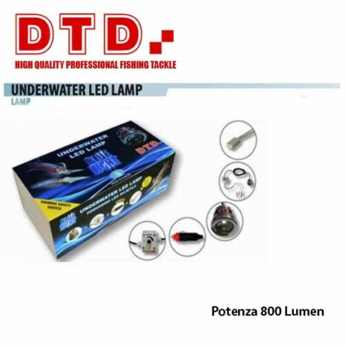 D8306442 Lampara Lampada Led Blu DTD Pesca Bolentino Calamari Seppie 12v  CSP