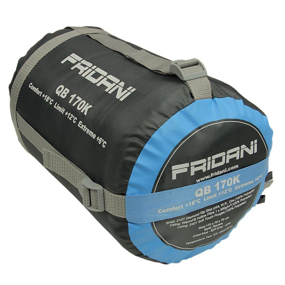 Fridani QB 170K short - Sac de couchage couverture, 170x70cm, 170x70cm, 170x70cm, 1200 g, +6°C (ext) d32ca6