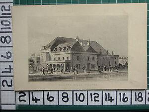 1851 Antico London Stampa ~ Sadlers Wells Teatro
