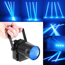 3W Blue LED Beam Spotlight Party Dance DJ Bar Spin Stage Light Pinspot Lights