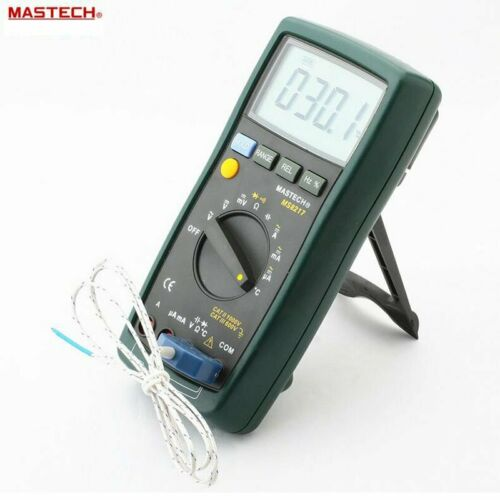 MASTECH MS8217 Digital Multimeter Auto ranging Frequency /& Temperature Tester