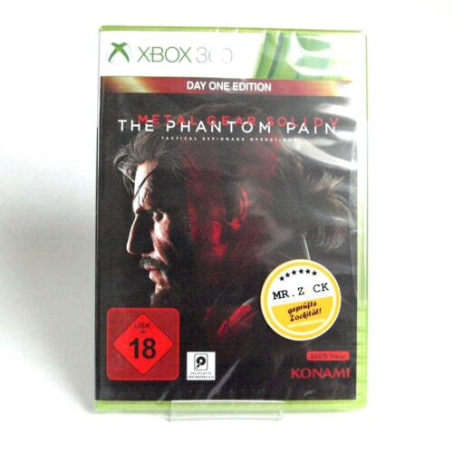 1 von 1 - Metal Gear Solid V - MGS 5 The Phantom Pain - Day One Ed. - Xbox 360 *nagelneu*