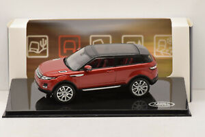 LAND-ROVER-EVOQUE-3-DOOR-FIRENZE-RED-IXO-1-43-NEUVE-EN-BOITE-PROMOTIONNELLE