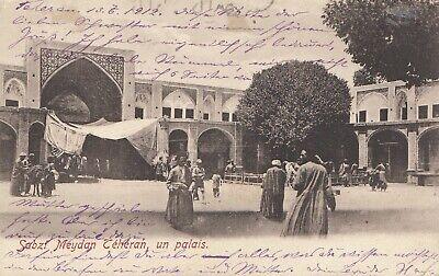 1912: Post Card Teheran To Hamburg Modern Und Elegant In Mode