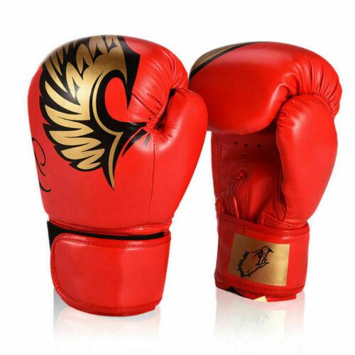 Kids//Adult Boxing Gloves Junior Mitts PunchBag Children Gel Pad Glove 11oz 18oz