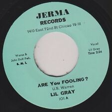 """LIL GRAY Are You Fooling / Out Of Nowhere Re. 7"""" Early 1960s Northern R&B HEAR"""
