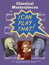 Piezas clásicas fácil piano Partituras Libro Classics Mozart Bach Canciones Tunes