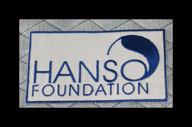 """LOST Dharma Initiative Embroidered patch """"Hanso Foundation"""""""