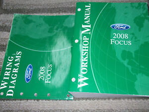2008 FORD FOCUS Service Repair Shop Workshop Manual Set W ...