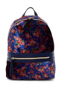 T-Shirt-amp-Jeans-Floral-Back-Pack-with-Studs-Multicolored
