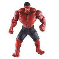 "Marvel Universe Avengers 10"" Incredible  RED Hulk Action Figure FG154"