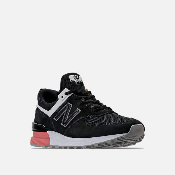 NEW BALANCE 574 SPORT BLACK/DUSTED PEACH CASUAL SHOES MEN'S SELECT YOUR SIZE
