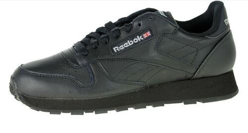 Reebok Classic Black Leather Junior GRADE SCHOOL Kid/'s Casual Sneakers 50148 L