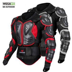 Motorcycle Full Body Protector Motocross Motorbike Guard Jacket Armor XL