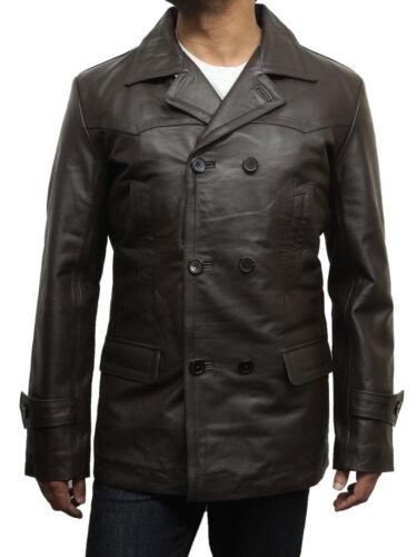 Brandslock Da Uomo Autentico leathert Giacca Prima Guerra Mondiale 2 vintage