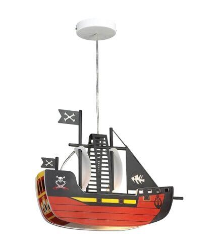 Kinderzimmer Hänge Decken Kinder Leuchte Baby Lampe Piraten Schiff Boat Boot