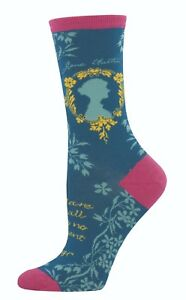 Blue-Jane-Austen-Socks-Author-Book-Reader-Ladies-Socksmith-Christmas-Present