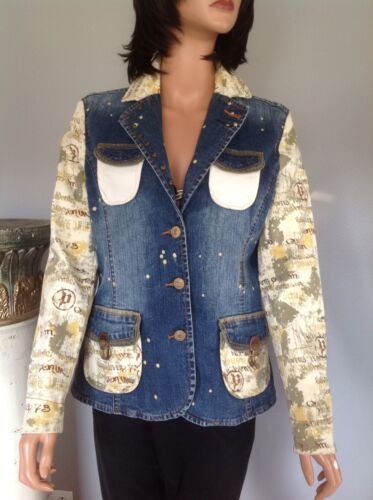 M Bomuld Mode 73 Chic To Jeans Tone Designer Denim Jakke Hip Pepe xwIHqgfdXw