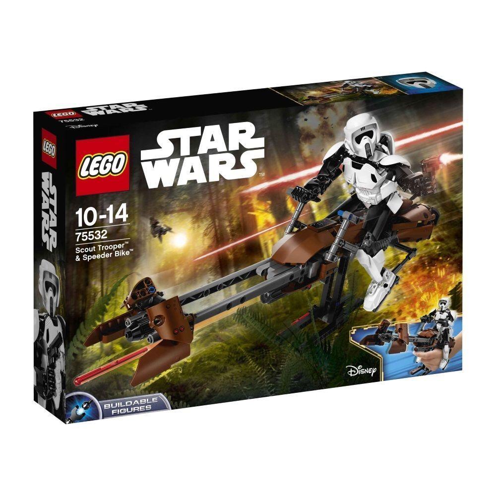 LEGO® Star Wars™ 75532 Scout Trooper™ & Speeder Bike™ NEU/OVP