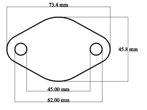 VW VOLKSWAGEN TIPO 4 Motore Raffreddato ad Aria Tubo Riempimento Olio piastra di otturazione OFF 1.7-2.0